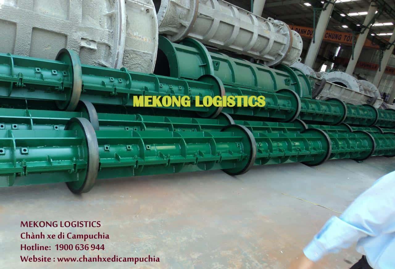 vận chuyển hàng công trình qua Campuchia