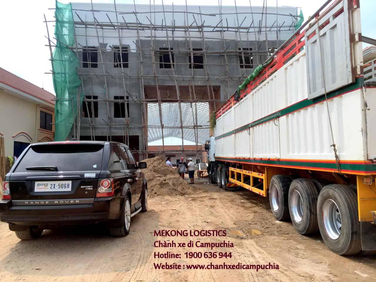 công ty vận chuyển hàng công trình cambodia