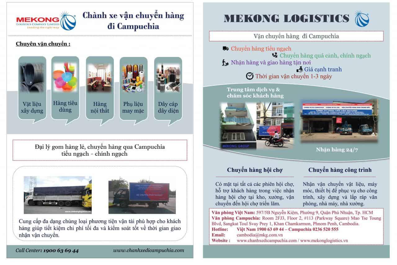 vận chuyển Việtnam Campuchia